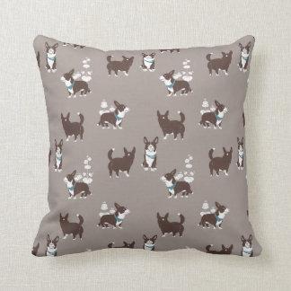 cardigan welsh corgi peduncle cushion