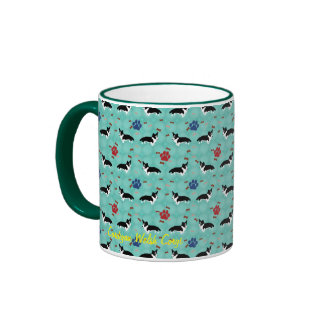 Cardigan Welsh Corgi Ringer Mug