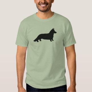 Cardigan Welsh Corgi  Silhouette T Shirt