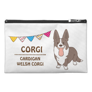cardigan welsh corgi travel accessory bag