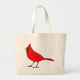 cardinal #2 large tote bag
