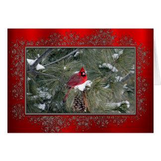 Cardinal 3093 Christmas Card
