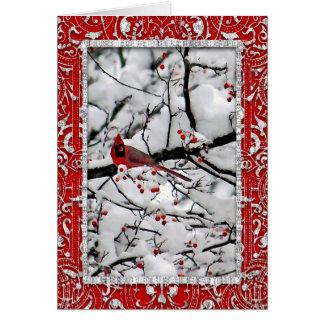 Cardinal 6153 Christmas Card