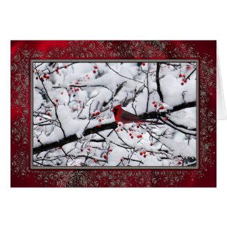 Cardinal 6154 Christmas Card