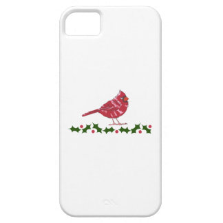 CARDINAL AND HOLLY iPhone 5 CASE
