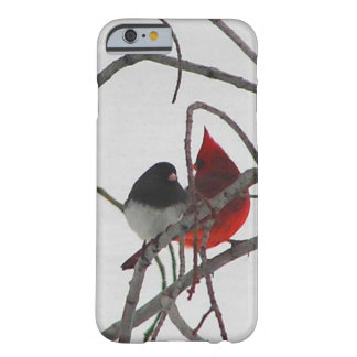 Cardinal and Snow Bird Winter Barely There iPhone 6 Case