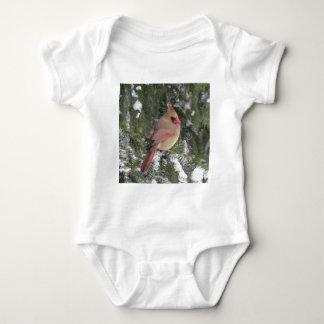 Cardinal Baby Bodysuit