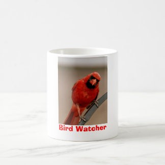 "Cardinal ""Bird Watcher"" Mug"