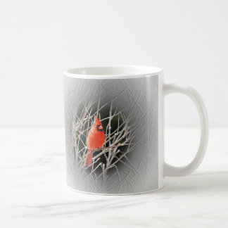 Cardinal Centered - Bird Coffee Mug