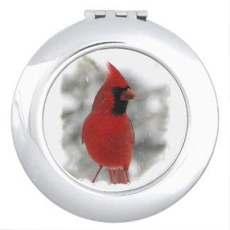 Cardinal Compact Mirror