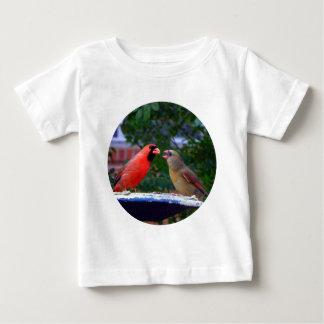 Cardinal Couple Eating Baby T-Shirt