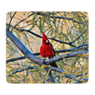 Cardinal Cutting Board