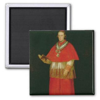 Cardinal Don Luis de Bourbon  c.1800 Square Magnet