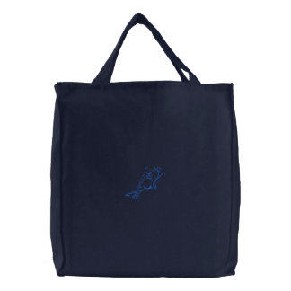 Cardinal Embroidered Bags