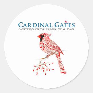 Cardinal Gates Sticker