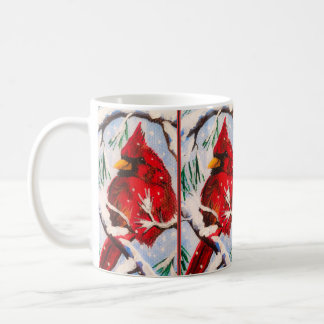 Cardinal in Red Cup