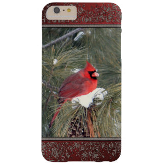 Cardinal in the Snow Barely There iPhone 6 Plus Case