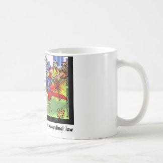 Cardinal Law Funny Law Cartoon Gifts & Collectible Basic White Mug