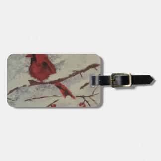 cardinal luggage tag