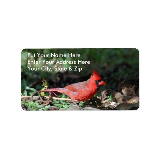 Cardinal Mailing Label Address Label