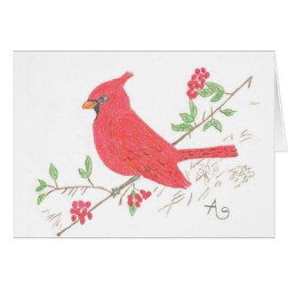 Cardinal Note Card