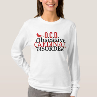 Cardinal Obsessed Funny T-Shirt