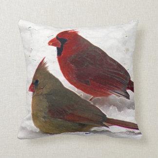 Cardinal Pair Pillow