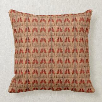 Cardinal Pattern Cushion