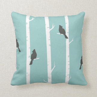 Cardinal Pattern Cushion
