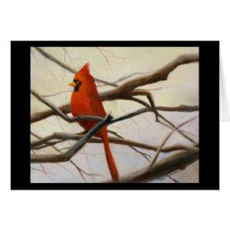 """""""Cardinal Red"""" Card"""