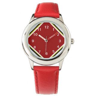 Cardinal Red Wrist Watch