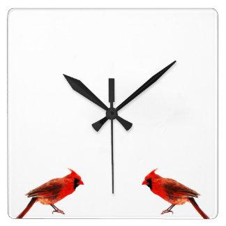 Cardinal(s) Square Wall Clock