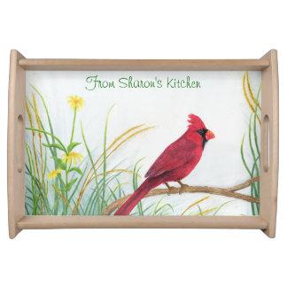 Cardinal - Serving Tray