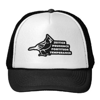 Cardinal Virtues Trucker Hat