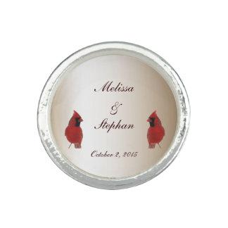 Cardinal Wedding Ring
