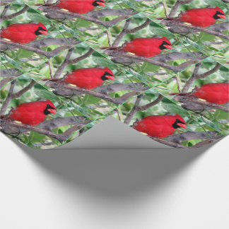 Cardinal Wrapping Paper