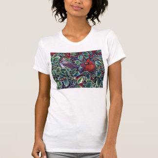 Cardinals and Holly T-Shirt