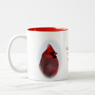 Cardinals Beverage Mug- Personalise Two-Tone Coffee Mug