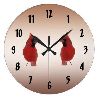 Cardinals Large Clock