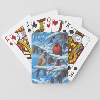 Cardinals Playing Cards