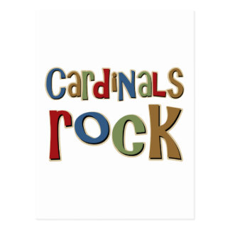 Cardinals Rock Postcard