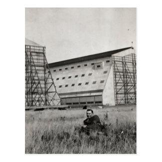 Cardington sheds postcard