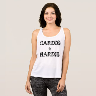 CARDIO is HARDIO active tank