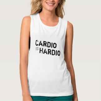 Cardio is Hardio Muscle Workout Tank
