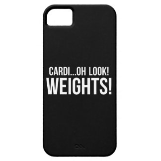 Cardio vs Weights - Funny Novelty Gym Workout Case For The iPhone 5