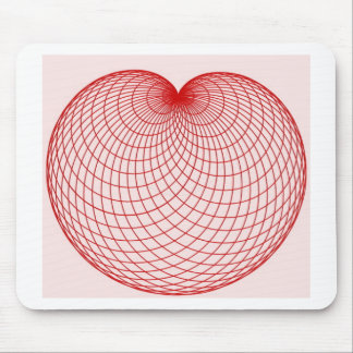 cardioide mouse pad