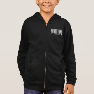 Cardiologist Barcode Hoodie