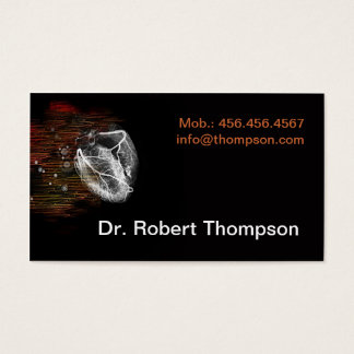 Cardiologist / Cardiology / Cardio Clinic Private Business Card