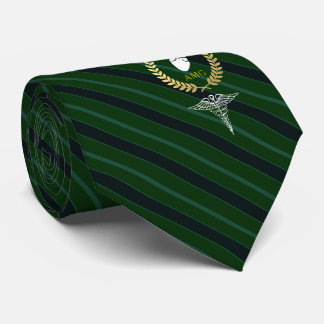 Cardiologist | Heart Doctor Customized Green Tie