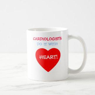 Cardiologists Do It with Heart Funny Coffee Mug